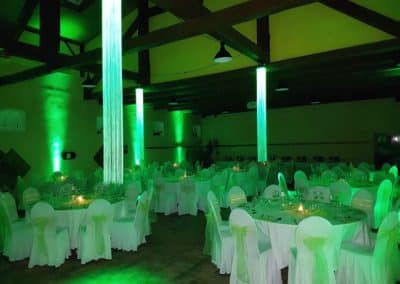Festsaal Licht und Kerzenschein