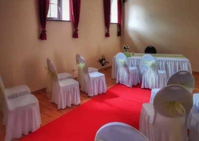 Trauzimmer für standesamtliche Hochzeit im Mühlenhof